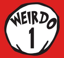 Weirdo 1 Dr Seuss Thing 1 by sweetsisters