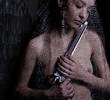 """Photography 8, From the series """"The sad woman that became an angel"""" by mauriciodefex"""