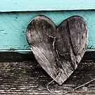 driftwood heart  by seagrass-cowes