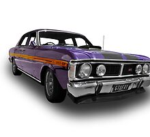 Ford - 1971 XY GT Fairmont Sedan - Quarter by axemangraphics