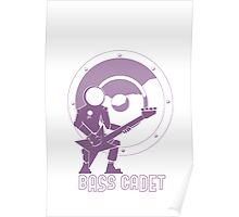 Bass Cadet with Speaker Amp Moon Poster