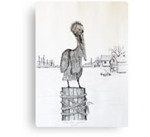 Pelican Watch Canvas Print