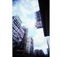 Cartons of Buildings - Lomo Photographic Print