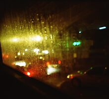 Raindrops Keep Falling - Lomo by Yao Liang Chua