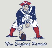 New England Patriots - Pat the Patriot by PrivateP