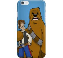 Han And Chewie iPhone Case/Skin