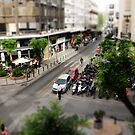 Thessaloniki Miniature Street Scene I by Lee Eyre