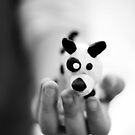 little doggy in her palm by Gregoria  Gregoriou Crowe