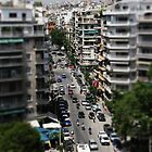 Thessaloniki Miniature Street Scene II by Lee Eyre