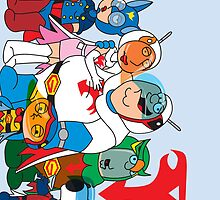Family Guy Gatchaman by AngelGirl21030