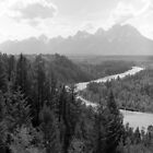 Snake River - The Grand Tetons  by Harry Snowden