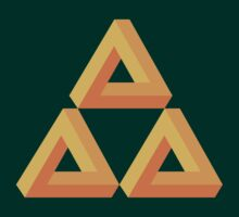 Impossible Triforce  by Gabby  Ortman