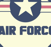 US Air Force Shipping Placard Sticker