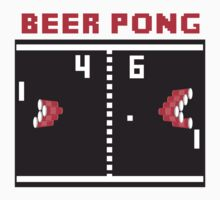 Beer Pong by Brantoe