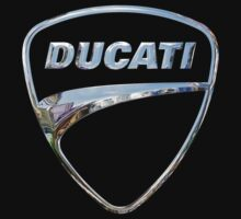 Ducati Logo in Silver Chrome by Chromed