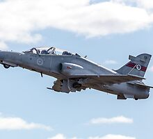 RAAF BAE Hawk Takeoff by Michael Clarke