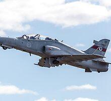RAAF BAE Hawk Takeoff by Michael Clarke