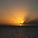 Sunset Over The Australian Mainland by Saraswati-she