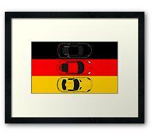 German Horsepower Framed Print