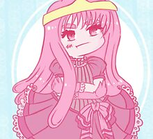 Chibi Princess Bubblegum by Dawn Wilson