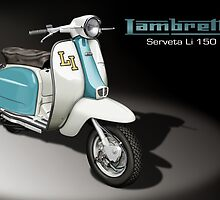 Lambretta Li 150 (Serveta) by Tony  Newland