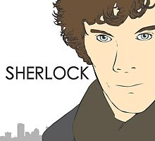 Sherlock- Benedict Cumberbatch by Warren Evans