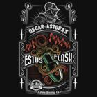 Sir Oscar of Astora's Estus Flask by Josh Legendre