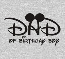 Disney Dad to Birthday Boy with Mouse ears by sweetsisters