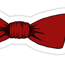 Bow ties are cool. Sticker