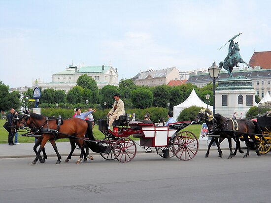 Austria - horse and buggy ride by Barberelli