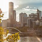 Melbourne from Southbank by Megan Gardner