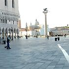Cleaning San Marco by hans p olsen
