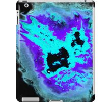 Purple and Blue Phoenix with black background iPad Case/Skin