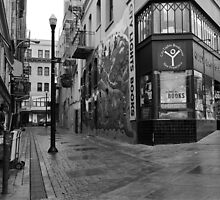 Jack Kerouac Alley by Rodney Johnson