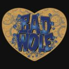 Love The Bad Wolf (Black T-Shirt, Hoodie, Baseball) by Zort70