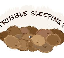 Tribble sleeping? by puppaluppa