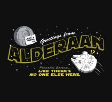 Greetings from Alderaan! by RyanAstle