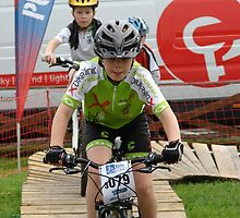 Mladá Boleslav TOUR CZ - racing mountain bikes XII. / little racer and his concentration by Natas