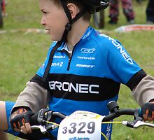 "Mladá Boleslav TOUR CZ - racing mountain bikes XIII. / little racer thinks: "" Will I go or not? by Natas"