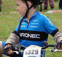 "Mladá Boleslav TOUR CZ - racing mountain bikes XIII. / little racer thinks: "" Will I go or not? by Natas"