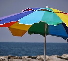 colorful umbrella by vigor