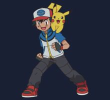 Ash Ketchum by Stephen Dwyer
