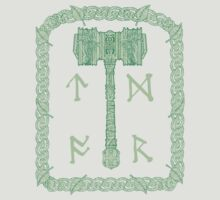 Runic Hammer of Nature by CMProductions
