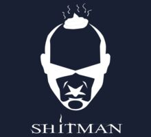 Shitman (White) by r3ddi70r