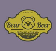 Bear Beer Label by Bob Buel
