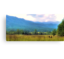 Heaven on Earth, Almost Canvas Print