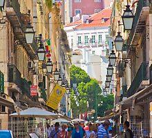 rua dos correeiros. Lisboa by terezadelpilar~ art & architecture