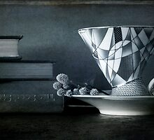 Tea cups and Seed Books by Clare Colins