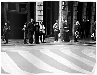 Lines up.. by Berns