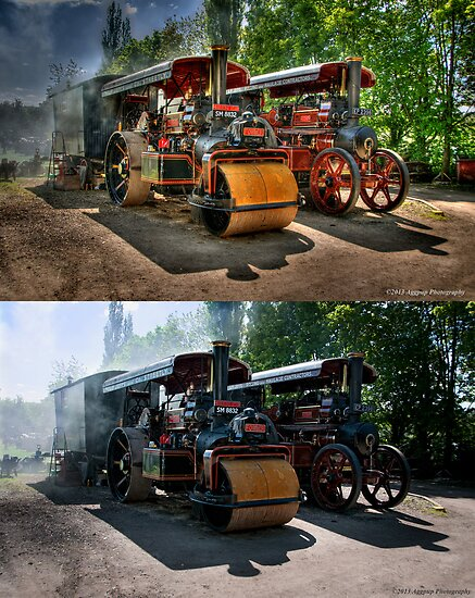 Steam Traction - HDR or Normal? by David J Knight